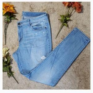 Ann Taylor Loft curvy skinny denim jeans | 31/12